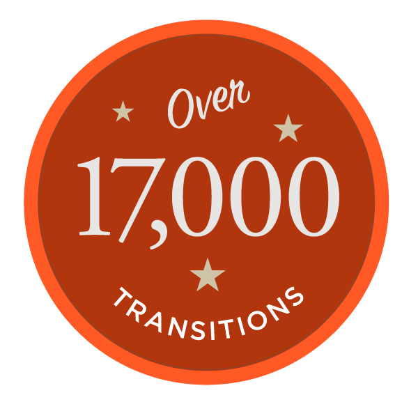 Over 15,000 Transitions